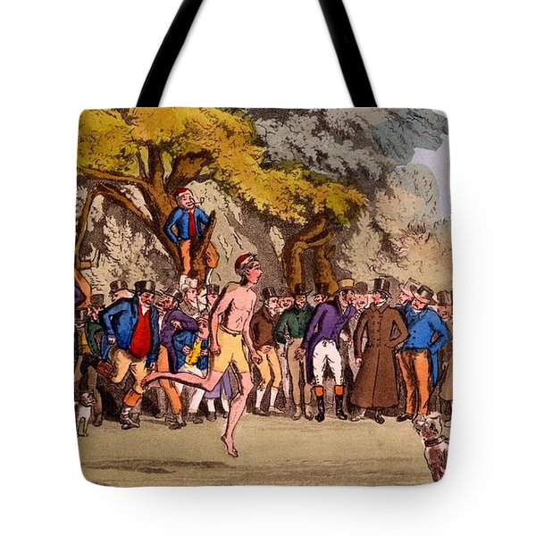 The Hopping Match On Clapham Common Tote Bag by English School