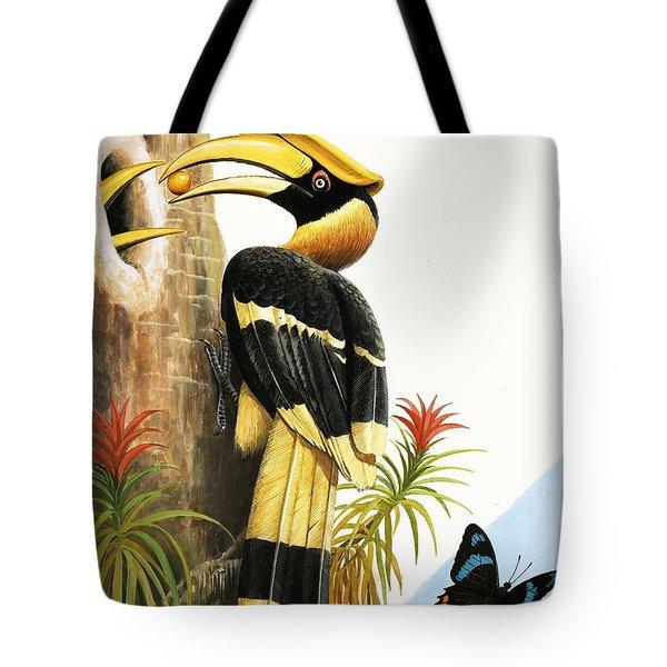 The Hornbill Tote Bag