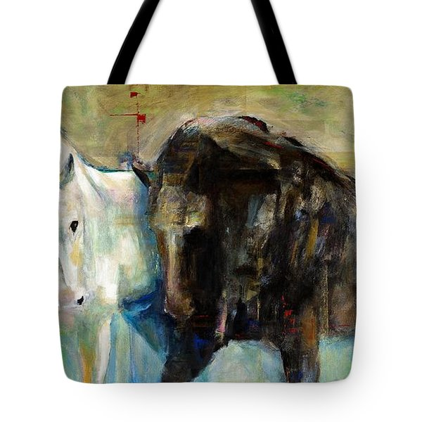 The Horse As Art Tote Bag by Frances Marino