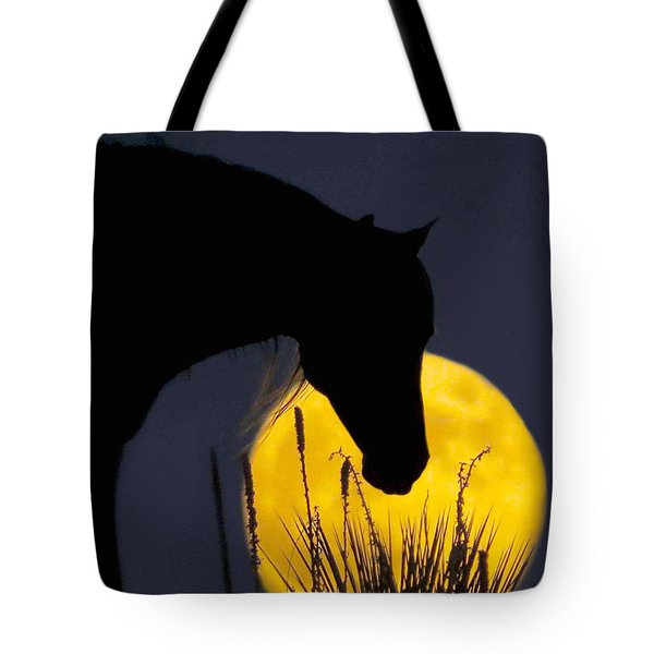 The Horse In The Moon Tote Bag