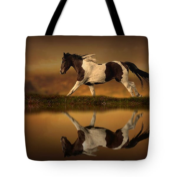 The Horse's Journey Tote Bag