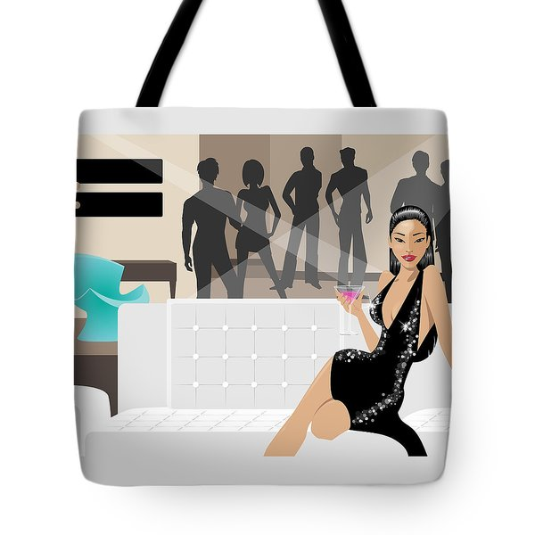 The Hostess Tote Bag by Amy De Wolfe