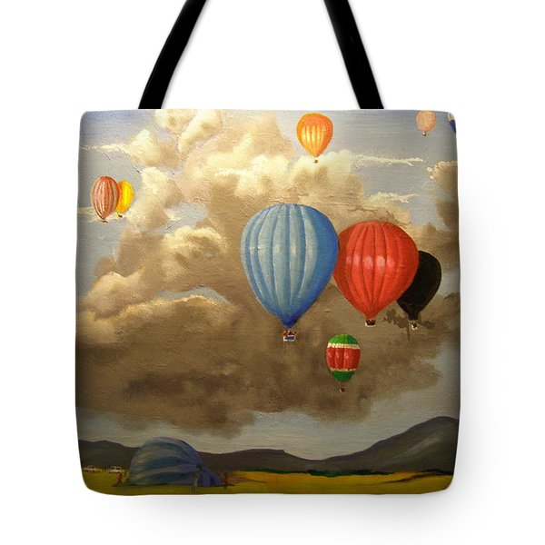 The Hot Air Balloon Tote Bag