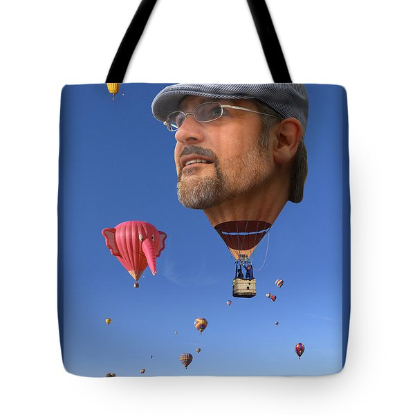 The Hot Air Surprise Tote Bag by Mike McGlothlen