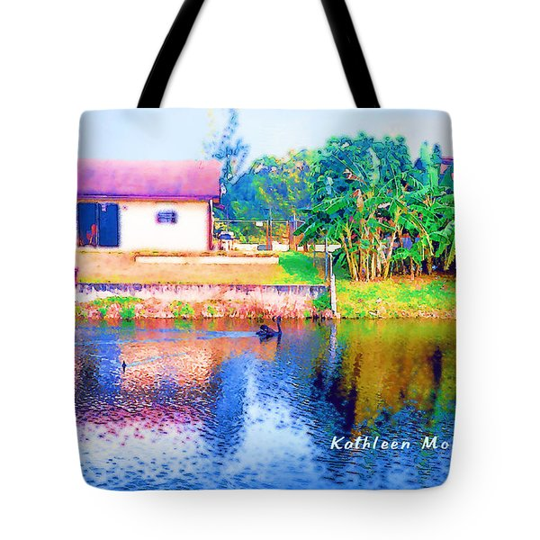 The House Across The Way Tote Bag