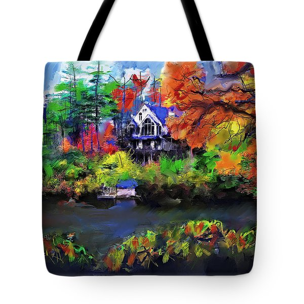 The House At Highlands Tote Bag