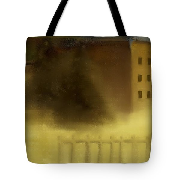 The House Beyond The Fence #c-2 Tote Bag