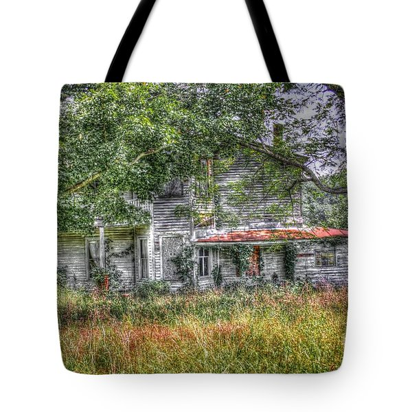 The House In The Woods Tote Bag by Dan Stone