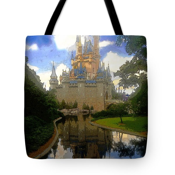 The House Of Cinderella Tote Bag
