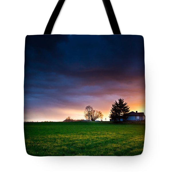 The House Of The Rising Sun Tote Bag by Eti Reid