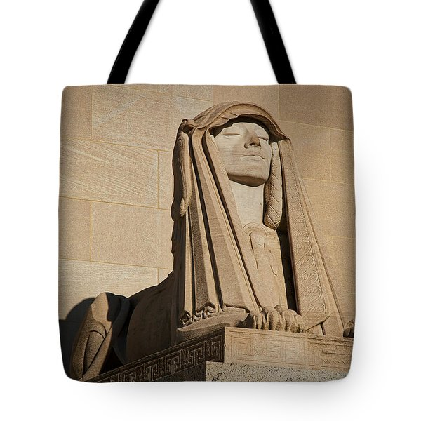 The House Of The Temple Sphinx #2 Tote Bag