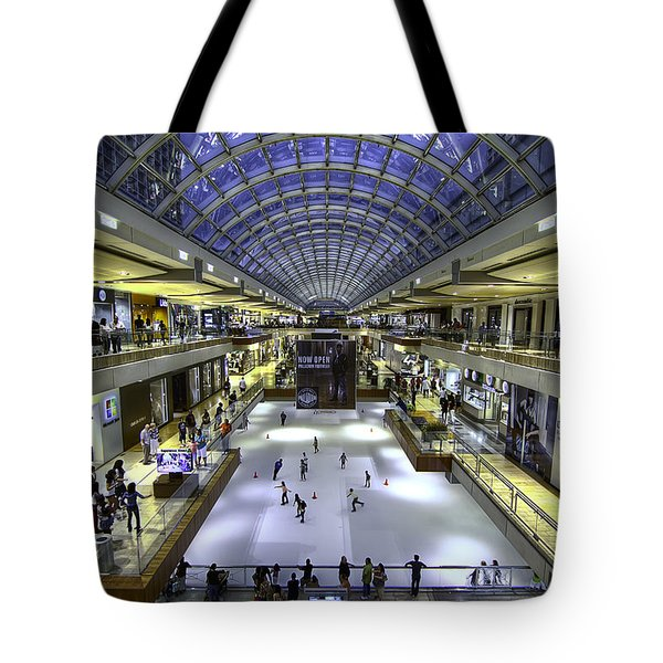 The Houston Galleria Tote Bag by Tim Stanley