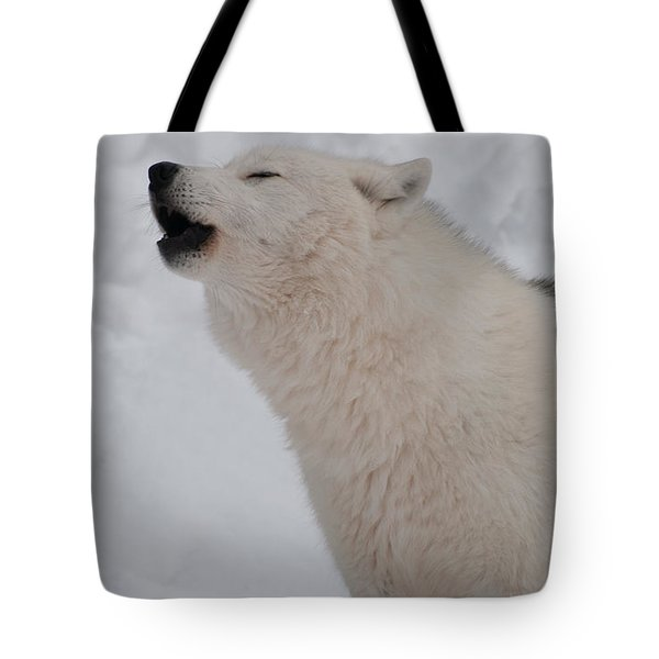 Tote Bag featuring the photograph The Howler by Bianca Nadeau