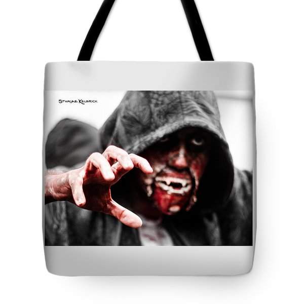 The Human Devil Jaws Tote Bag