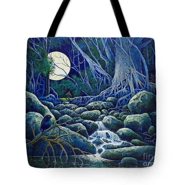 The Hunt For The Wolfman Tote Bag