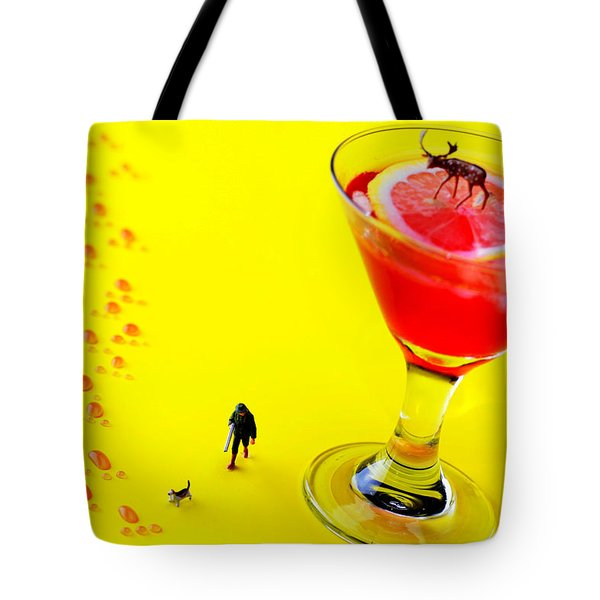 The Hunting Little People Big Worlds Tote Bag by Paul Ge