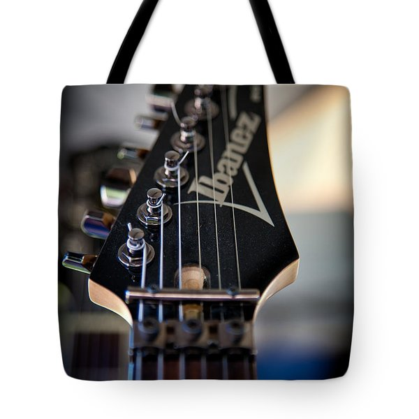 The Ibanez Guitar Tote Bag by David Patterson