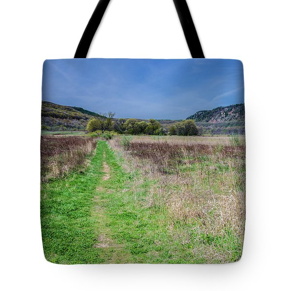 The Ice Age Trail Tote Bag by Jonah  Anderson
