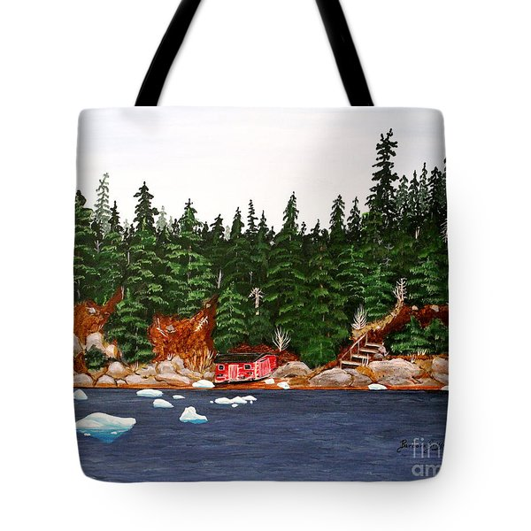 The Ice Took It Tote Bag by Barbara Griffin