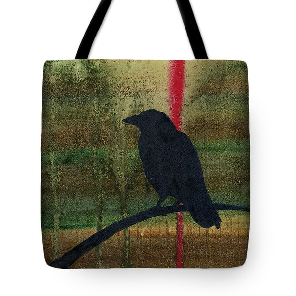 The Impossibility Of Crows Tote Bag by Jim Stark