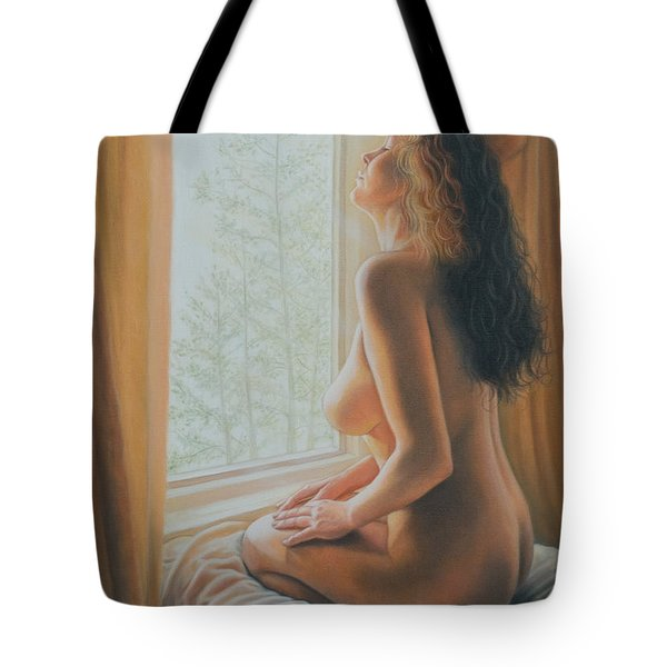 The Incredible Lightness Of Being Tote Bag by Holly Kallie