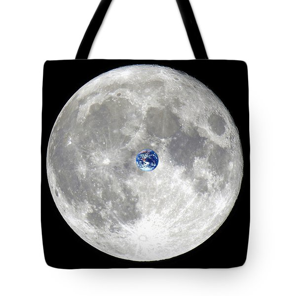 The Incredible Shrinking Planet Tote Bag
