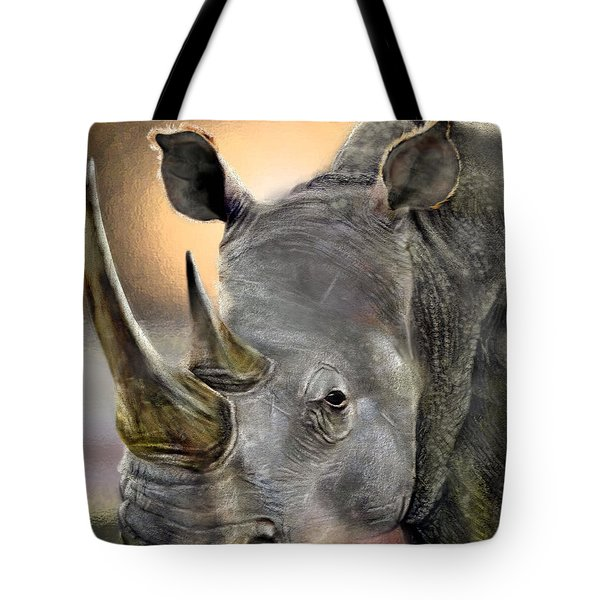 The Inevitable Collision-and So I Wait Tote Bag by Reggie Duffie