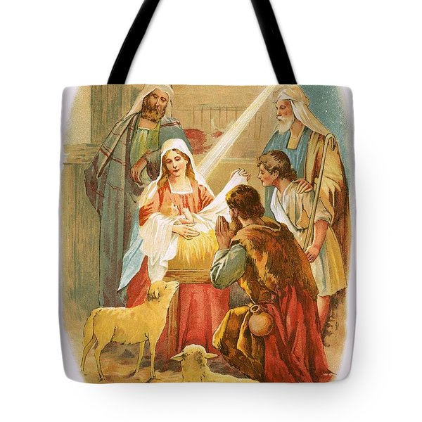 The Infant Jesus Tote Bag by English School