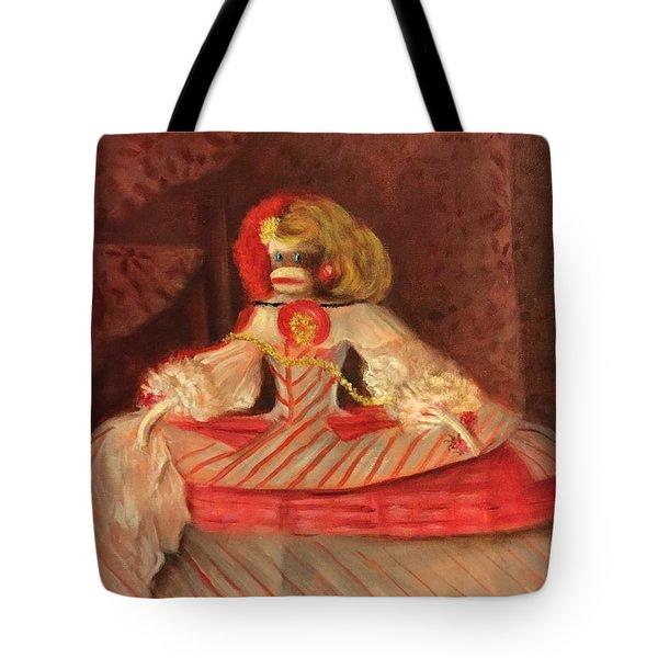 The Infant Margarita Tote Bag by Randy Burns