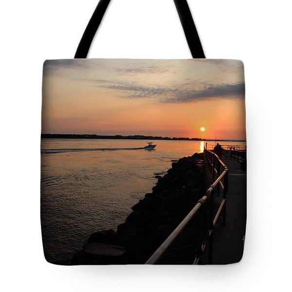 The Inlet Tote Bag by David Jackson