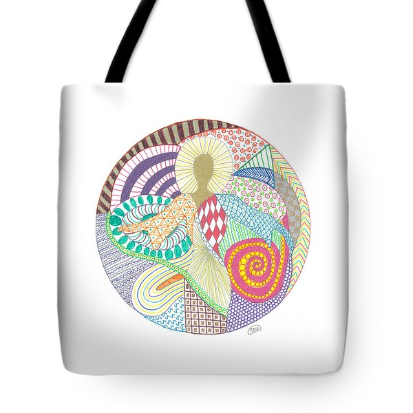 The Inner Goddess Tote Bag by Signe  Beatrice