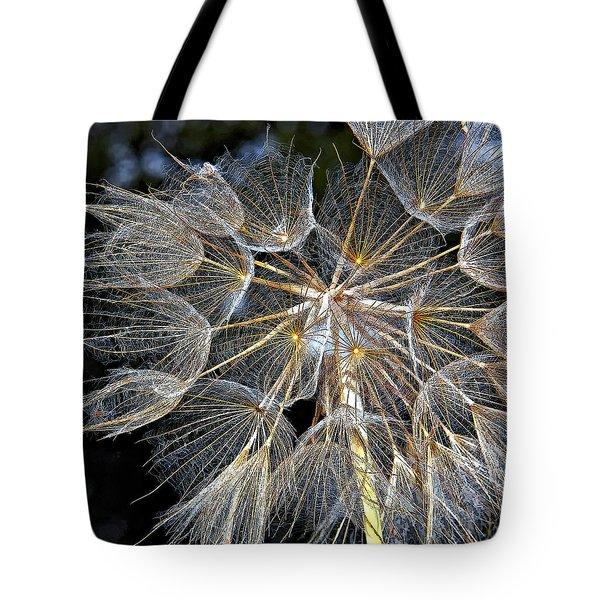 The Inner Weed Paint Tote Bag by Steve Harrington