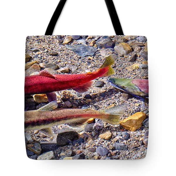 Tote Bag featuring the photograph The Interloper by Jim Thompson