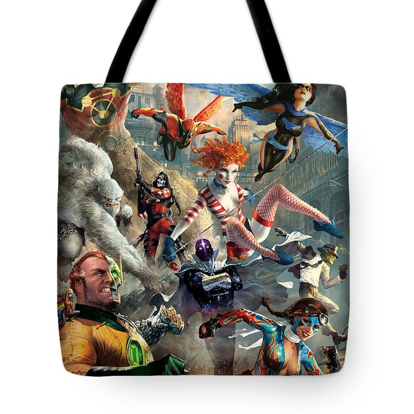 The Invincibles Tote Bag by Ryan Barger