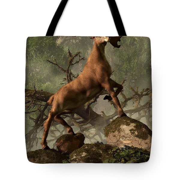 The Irish Elk Tote Bag