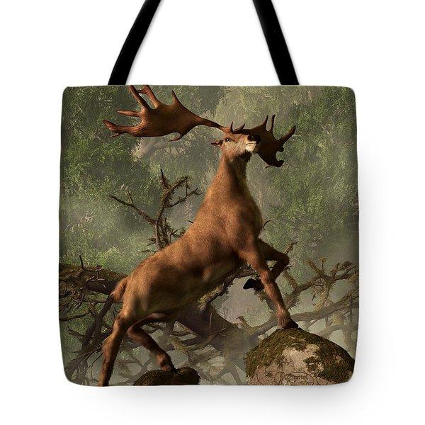 The Irish Elk Tote Bag