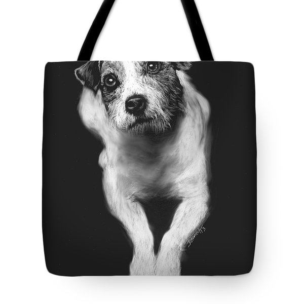 The Jack Russell Stare- Got Ball? Tote Bag