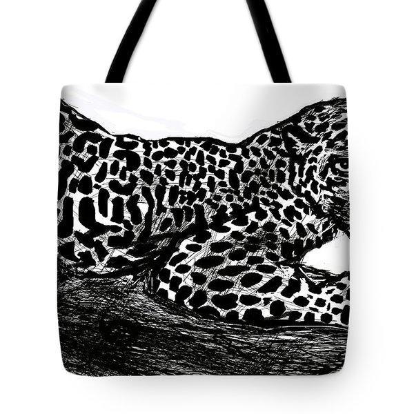 The Jaguar  Tote Bag