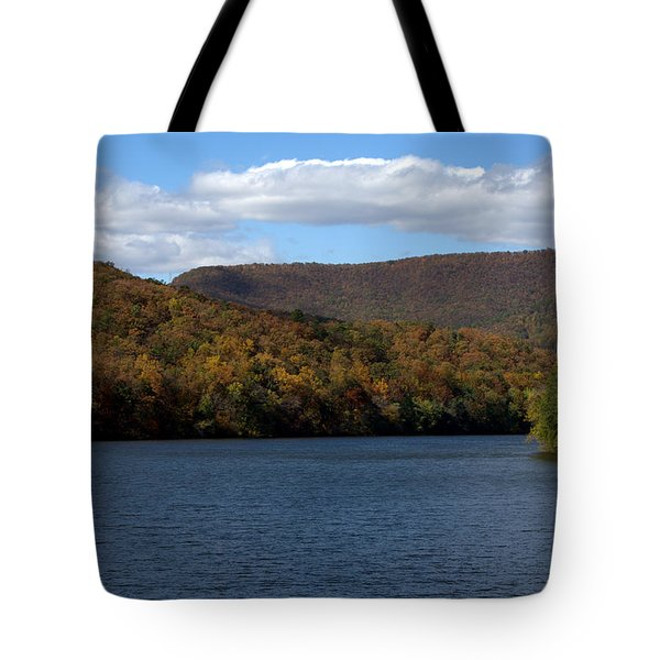 The James At Snowden Tote Bag by Cathy Shiflett