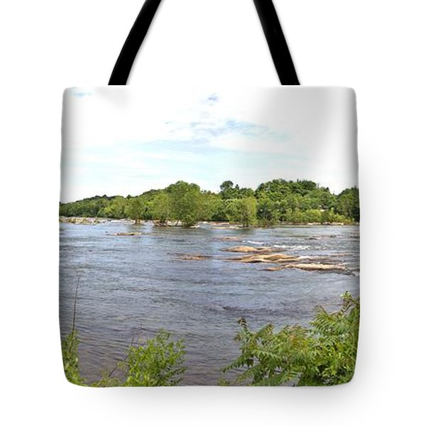 The James River Tote Bag