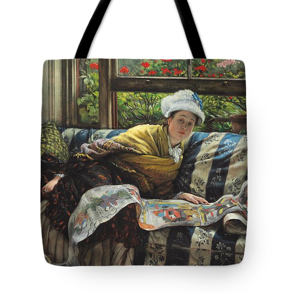 The Japanese Scroll Tote Bag by Tissot