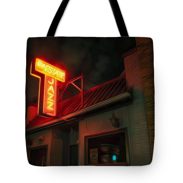 The Jazz Estate Tote Bag