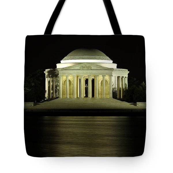 The Jefferson Memorial Tote Bag