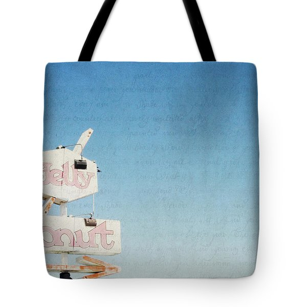 The Jelly Donut - California Tote Bag