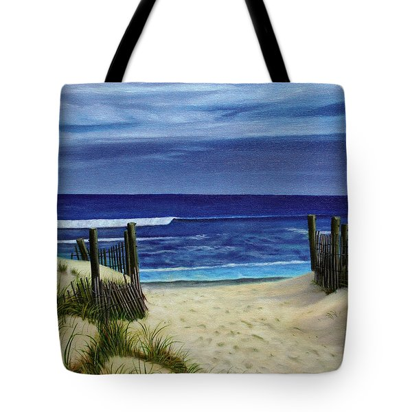 The Jersey Shore Tote Bag
