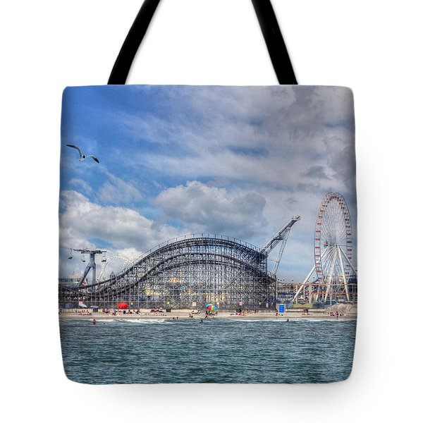 The Jersey Shore Tote Bag by Lori Deiter