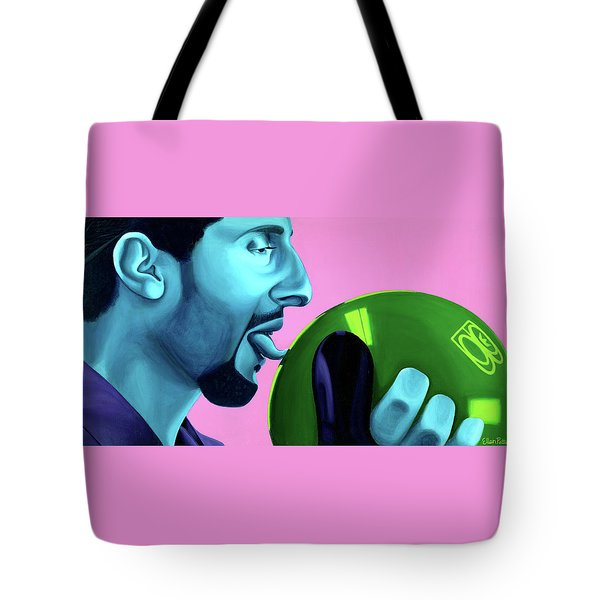 The Jesus Tote Bag by Ellen Patton