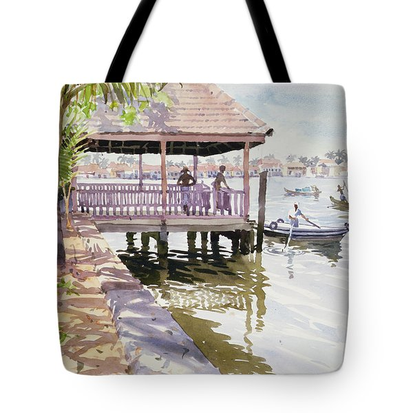 The Jetty Cochin Tote Bag by Lucy Willis