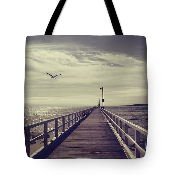 The Jetty Tote Bag by Linda Lees