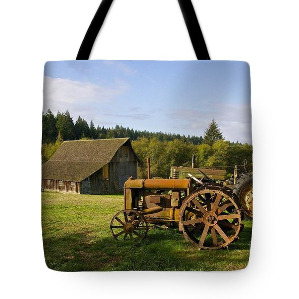 The Johnson Farm Tote Bag